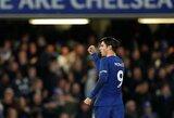 """A.Morata prabilo apie sunkų gyvenimo periodą ir prisipažino svarstęs galimybę palikti """"Chelsea"""" komandą"""