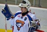 """""""HC Baltica"""" vartininkas tobulėja pas NHL trenerį"""