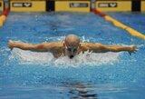 30-ą kartą Europos plaukimo čempionu tapęs L.Csehas pagerino žemyno rekordą (+ kiti rezultatai)