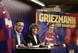 """A.Griezmannas toliau džiūgauja dėl persikėlimo į """"Barcą"""": """"Jie stato tokią komandą, lyg tai būtų sukčiavimas kompiuteriniame žaidime"""""""
