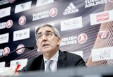 """Eurolygos vadovas J.Bertomeu sušvelnino toną: """"Manau, kad vėl turime pradėti dirbti kartu su FIBA"""""""