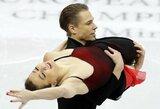 Europos čempionate – puikus Lietuvos poros startas ir prancūzų pasaulio rekordas