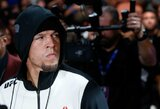 """UFC prezidentas netiki N.Diazo žodžiais, C.Garbrandtas nori kovoti """"UFC 222"""" turnyre"""