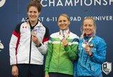 Eilinį kartą įspūdingai bėgusi ir šaudžiusi L.Asadauskaitė-Zadneprovskienė ketvirtą kartą tapo Europos čempione!