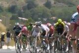 """Pamatykite: už smūgį ranka italas G.Mosconas buvo diskvalifikuotas iš """"Tour de France"""" varžybų"""