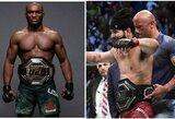 """J.Masvidalis ir K.Usmanas susitarė dėl kovos """"UFC 251"""" turnyre: liko viena kliūtis"""
