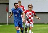 EURO2020 atranka: Kroatija susitikimą su Azerbaidžanu baigė lygiosiomis