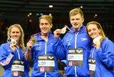 Istorinę estafetės rungtį Europos plaukimo čempionate laimėjo planetos rekordą pagerinę britai (+ kiti rezultatai)