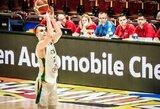 Beveik visas rungtynes pirmavę ir dviženklį pranašumą iššvaistę Lietuvos dvidešimtmečiai krito aštuntfinalyje