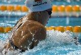 R.Meilutytė vienoje iš pagrindinių savo rungčių liko toli nuo vietos finale