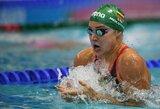 R.Meilutytė su plaukimo žvaigždėmis triumfavo Italijoje