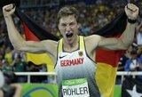 Lengvosios atletikos pasaulis priblokštas: vokietis užfiksavo 20 metų neregėtą rezultatą (papildyta)
