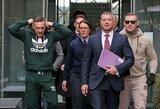 Teisėjos grasinimų sulaukęs C.McGregoras gavo juokingo dydžio baudą (papildyta)