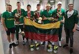 """Europos auksu sužibusių jaunųjų """"3x3"""" krepšininkų treneris D.Novickas: """"Vyrai ėjo keliais ir atidavė širdis už Lietuvą"""""""