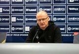 """V.Urbonas: """"Turime klaustukų dėl A.Novikovo, bet tikiuosi, kad jis galės žaisti"""""""