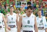 Lažybininkų prognozė: Lietuvos krepšinio rinktinė E grupę įveiks, bet suklups ketvirtfinalyje