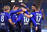 """Italijos taurėje – """"Lazio"""" pergalė prieš """"Fiorentina"""""""