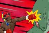 Naujoji M.Tysono išėjimo į ringą dainą? Bokso legenda paėmė mikrofoną į rankas