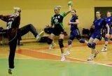 """Lietuvos moterų rankinio čempionato lyderių susitikime – """"ACME-Žalgirio"""" pergalė"""