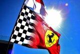 """""""Ferrari"""" grasina pasitraukti iš """"Formulės 1"""" lenktynių"""