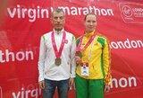 Lietuvai pirmą bilietą į Tokiją iškovojo maratonininkė A.Garunkšnytė