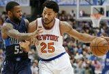 """""""Knicks"""" ir """"Timberwolves"""" gali apsikeisti įžaidėjais"""