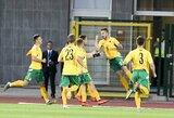 Lietuvos U-21 futbolo rinktinė triuškinama pergale pradėjo Europos čempionato atranką