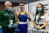Dar vienas medalis: S.Zelenekas pateko į Europos jaunių bokso čempionato pusfinalį