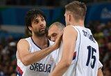 Izraelį sutriuškinę serbai užsitikrino kelialapį į Pasaulio taurę