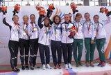 Pasaulio kariškių žaidynėse Lietuvos moterų orientavimosi sporto komanda iškovojo bronzos medalius