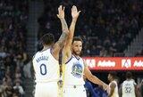S.Curry per 25 minutes pelnė 40 taškų