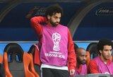 M.Salah agentas suteikė naujų žinių apie futbolininko sveikatą