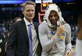 S.Kerro liga kelia nerimą, o S.Curry pademonstravo jam didelę pagarbą