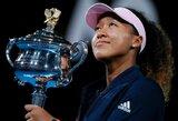 """To dar nebuvo: """"Australian Open"""" finale triumfavusi N.Osaka iškovojo istorinę pergalę Azijos žemynui"""