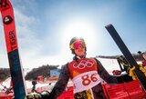 18-metis kalnų slidininkas A.Drukarovas be klaidų debiutavo olimpinėse žaidynėse