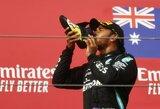 """L.Hamiltonas abejoja dėl ateities: """"Jokių garantijų, kad čia būsiu kitame sezone"""""""