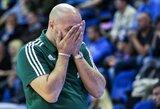 """""""Panathinaikos"""" savininkui trūko kantrybė: prieš mūšį su """"Žalgiriu"""" – solidžios baudos krepšininkams ir treneriui"""