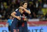E.Cavani prabilo apie santykius su Neymaru