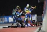 Pasaulio biatlono taurės etape – buvusios slidininkės triumfas ir dar vienas nuviliantis lietuvių pasirodymas