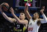 """""""Fenerbahce"""" atkirtis FIBA: """"Mes neišsigąsime grasinimų"""""""