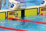 Asmeninį rekordą pakartojęs P.Strazdas pasaulio plaukimo čempionate aplenkė 40 varžovų
