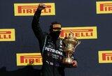 """""""Formulės 1"""" pilotai ir komandų vadovai sudarė geriausių sezono lenktynininkų dešimtuką"""