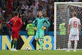 Tragiškai pirmose rungtynėse pasirodęs D.De Gea išliks pagrindiniu Ispanijos rinktinės vartininku