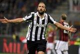 """Pergalę iškovoję """"Juventus"""" tvirtina pirmąją poziciją Italijoje"""