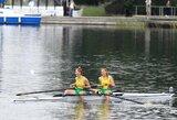 V.Urbonaitė ir K.Kralikaitė pasaulio jaunių irklavimo čempionate liko šalia prizininkių