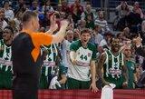 """Eurolyga skyrė baudą """"Panathinaikos"""" ekipai"""