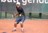 Keturiems lietuviams pavyko prasibrauti į tarptautinio teniso turnyro pusfinalį