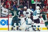 """""""Sharks"""" nepavyko įveikti vienų iš NHL lyderių"""
