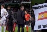 """Nemalonus sugrįžimas: """"Real"""" fanai nušvilpė G.Bale'ą ir iškėlė sarkastišką vėliavą"""