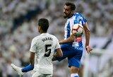 """""""Valladolid"""" per pridėtą rungtynių laiką išplėšė lygiąsias su """"Espanyol"""""""